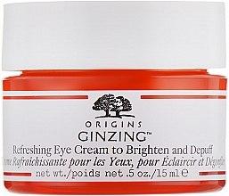 Парфюмерия и Козметика Изсветляващ околоочен крем с джинджифил - Origins GinZing Refreshing Eye Cream To Brighten And Depuff