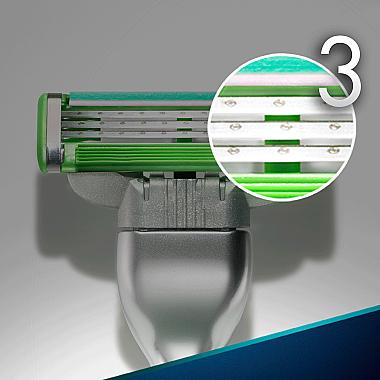 Ножчета за бръснене - Gillette Mach3 Sensitive — снимка N2