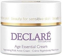 Парфюмерия и Козметика Крем за лице против бръчки с екстракт от божур - Declare Age Control Age Essential Cream
