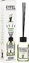 "Арома дифузер ""Кокиче"" - Eyfel Perfume Reed Diffuser Snowdrop — снимка N1"