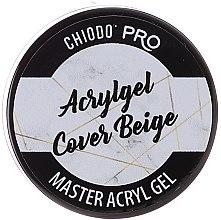 Парфюмерия и Козметика Гел за нокти, бежово - Chiodo Pro Acryl Gel Cover Beige