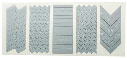 Шаблони за дизайн на маникюр - Peggy Sage Nail Art Duo Stencils — снимка N1
