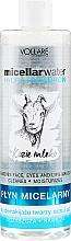 Парфюмерия и Козметика Хидратираща мицеларна вода за лице - Vollare Goat's Milk Micellar Water Hedra Hyaluron