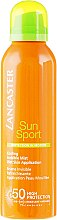 Парфюмерия и Козметика Охлаждащ слънцезащитен спрей - Lancaster Sun Sport Cooling Invisible Mist SPF50
