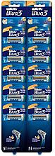 Парфюми, Парфюмерия, козметика Комплект самобръсначки, 10 бр - Gillette Blue 3