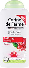 Парфюмерия и Козметика Душ крем с екстракт от червена боровинка - Corine De Farme Shower Cream