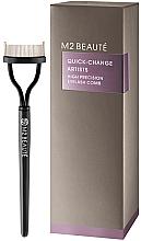 Парфюмерия и Козметика Четка за мигли - M2Beaute Quick-Change Artists High Precision Eyelash Comb