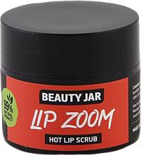Парфюмерия и Козметика Захарен скраб за устни - Beauty Jar Lip Zoom Hot Lip Scrub