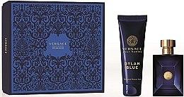 Парфюми, Парфюмерия, козметика Versace Pour Homme Dylan Blue - Комплект (тоал. вода/100ml + душ гел/150ml)