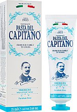 Парфюмерия и Козметика Паста за зъби за пушачи - Pasta Del Capitano Smokers Toothpaste