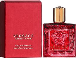 Парфюмерия и Козметика Versace Eros Flame - Парфюмна вода (мини)