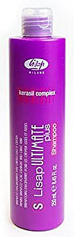Шампоан с изглаждащ ефект за гладка и къдрава коса - Lisap Milano Ultimate Plus Taming Shampoo
