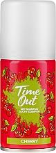 Парфюмерия и Козметика Сух шампоан за коса - Time Out Dry Shampoo Cherry