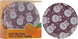 Парфюми, Парфюмерия, козметика Двоен портокалов балсам за устни - SeaNtree Moisture Steam Dual Lip Balm Orange 3