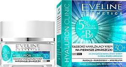Парфюми, Парфюмерия, козметика Крем за лице - Eveline Cosmetics Hyaluron Clinic 30+
