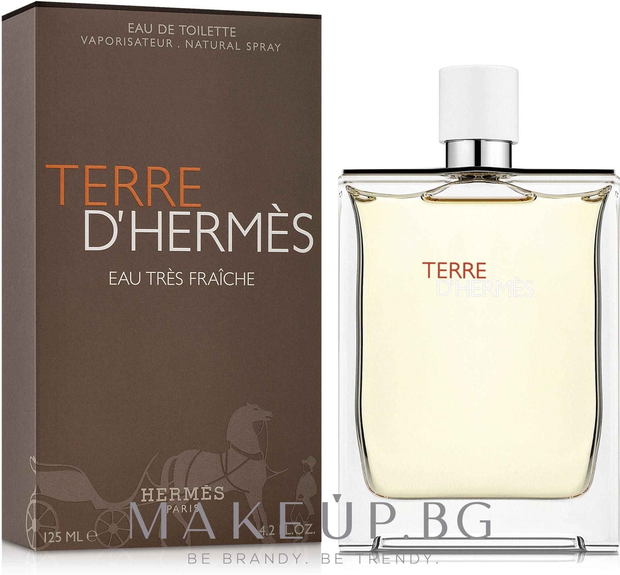 Hermes Terre d'Hermes Eau Tres Fraiche - Тоалетна вода — снимка 125 ml