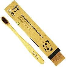 Парфюми, Парфюмерия, козметика Детска мека четка за зъби с кафяви косъмчета - Zuzii Kids Soft Toothbrush