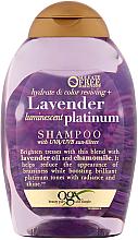 Парфюми, Парфюмерия, козметика Шампоан за боядисана коса - OGX Lavender Luminescent Platinum Shampoo