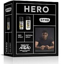 Парфюми, Парфюмерия, козметика STR8 Hero - Комплект (спрей за тяло/85ml + део/150ml)