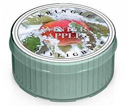 Парфюмерия и Козметика Чаена свещ - Kringle Candle Winter Apple Daylight