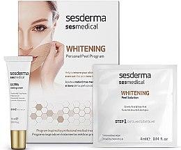Парфюмерия и Козметика Избелваща програма за лице - Sesderma Sesmedical Whitening Personal Peel Program