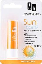 """Парфюми, Парфюмерия, козметика Балсам за устни """"Мед"""" - AA Cosmetics Sun Care Protective Lipstick SPF 25"""
