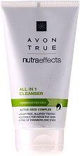 Парфюми, Парфюмерия, козметика Освежаващ почистващ гел за лице - Avon True Nutraeffects All In 1 Cleanser