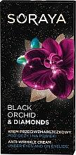 Парфюми, Парфюмерия, козметика Околоочен крем против бръчки - Soraya Black Orchid & Diamonds Anti-Wrinkle Cream Under Eyes And On Eyelids