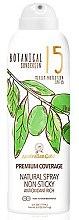 Парфюмерия и Козметика Слънцезащитен спрей - Australian Gold Botanical Sunscreen Premium Coverage Natural Spray SPF 15