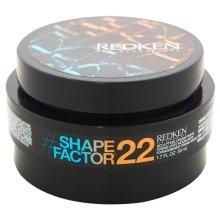 Парфюми, Парфюмерия, козметика Моделираща крем-паста за стилизиране на косата - Redken Flex Shape Factor 22 Sculpting Cream Paste