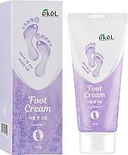 Парфюмерия и Козметика Успокояващ крем за крака с лавандула - Ekel Foot Cream