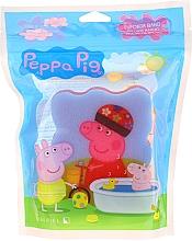 """Парфюмерия и Козметика Детска гъба за баня """"Прасето Пепа"""", розова - Suavipiel Bath Sponge"""