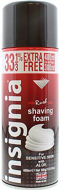 Пяна за бръснене - Insignia Shaving Foam Rush — снимка N1