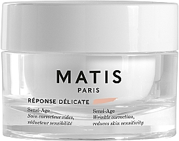 Парфюмерия и Козметика Успокояващ крем против бръчки за чувствителна кожа - Matis Reponse Delicate Sensi-Age