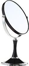 Парфюмерия и Козметика Двустранно козметично огледало, 85642, черно - Top Choice