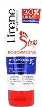 Парфюмерия и Козметика Регенерираща маска-крем за крака 2in1 за загрубяла кожа - Lirene Stop Callusness Foot Cream-Mask