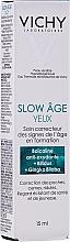 Парфюмерия и Козметика Околоочен крем - Vichy Slow Age Eye Cream