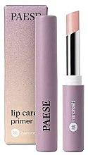 Парфюмерия и Козметика Основа за устни - Paese Nanorevit Lip Care Primer