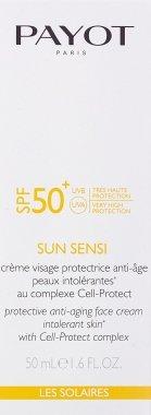 Слънцезащитен крем за лице против стареене SPF50 - Payot Sun Sensi Protective Anti-aging Face Cream — снимка N2