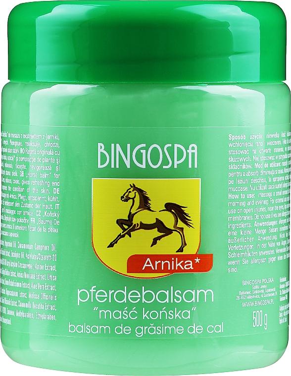 Конски мехлем с екстракт от арника - BingoSpa Horse Ointment With Arnica