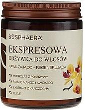 Парфюмерия и Козметика Експресен балсам за коса с масло от манго и авокадо - Bosphaera