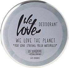 "Парфюмерия и Козметика Натурален кремообразен дезодорант ""So Sensitive"" - We Love The Planet Deodorant So Sensitive"