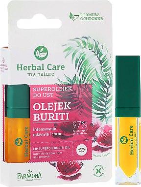 Защитно масло за устни - Farmona Herbal Care Lip Oil