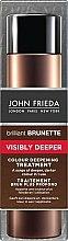 Парфюми, Парфюмерия, козметика Продукт за наситен и дълбок цвят на тъмна коса - John Frieda Brilliant Brunette Visibly Deeper Colour Deepening Treatment