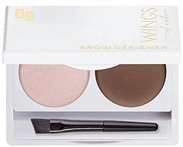 Парфюмерия и Козметика Палитра за вежди - AA Cosmetics Wings Of Color Brow Designer