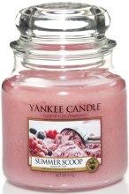 Парфюми, Парфюмерия, козметика Свещ в стъклено бурканче - Yankee Candle Summer Scoop