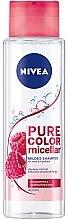 Парфюми, Парфюмерия, козметика Мицеларен шампоан за боядисана коса - Nivea Pure Color Micellar Shampoo