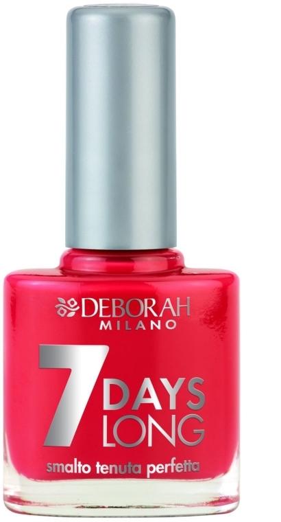 Лак за нокти - Deborah 7 Days Long — снимка N1