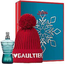 Парфюми, Парфюмерия, козметика Jean Paul Gaultier Le Male - Комплект (тоал. вода/125ml + шапка)
