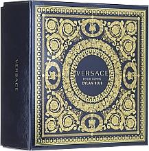 Парфюмерия и Козметика Versace Dylan Blue Pour Femme - Комплект (парф. вода/30ml + лосион/50ml)